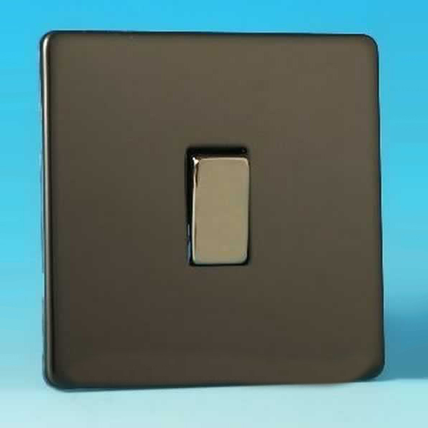 Varilight 1 Gang 1 Or 2 Way 10a Rocker Light Switch